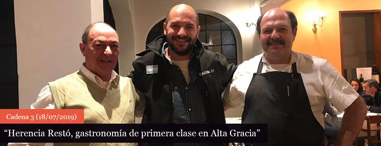 Gastronomía de primera clase en Alta Gracia
