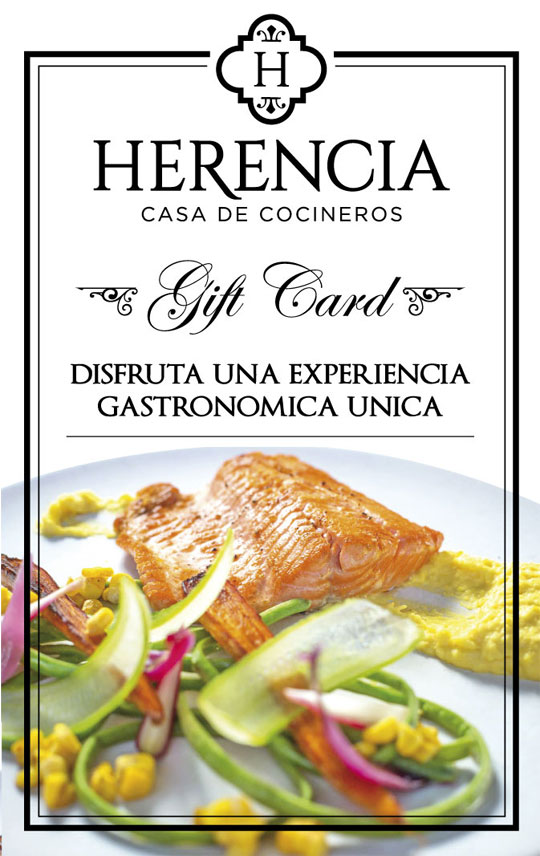 GiftCard Herencia Resto